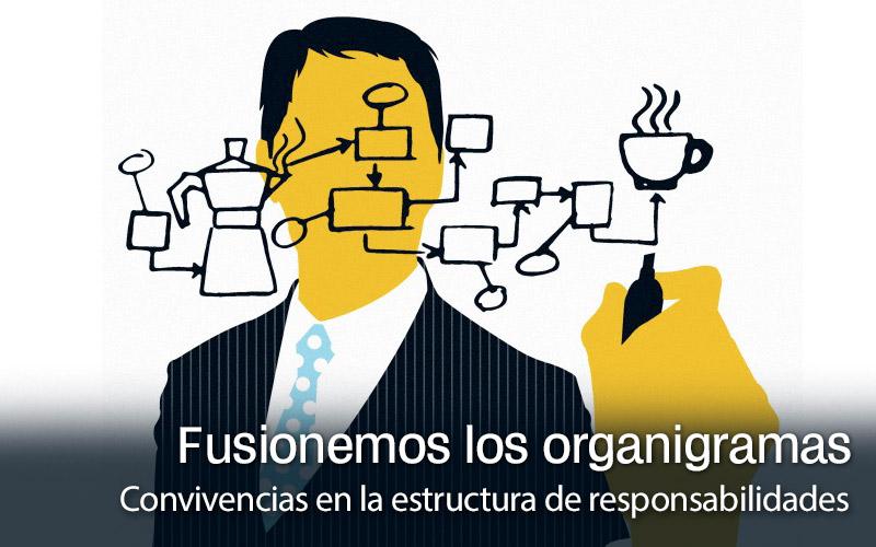 Los dos organigramas en tu empresa