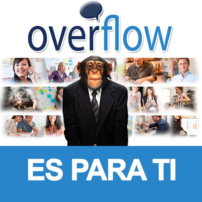 ¡Overflow es para ti! ¡Gracias por visitarnos!