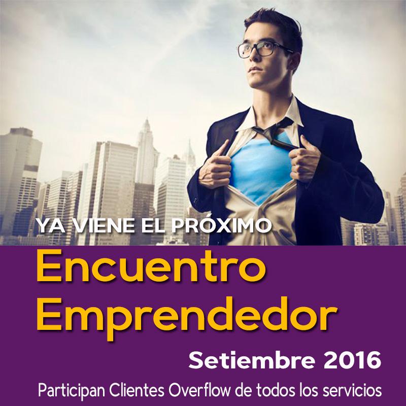 Pronto - Encuentro Emprendedor - El 30 de Setiembre 2016
