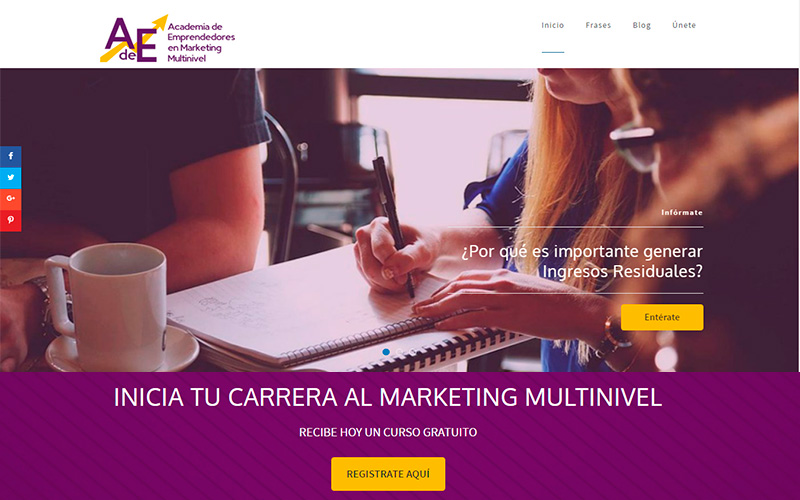 Academia de Emprendedores en Marketing Multinivel