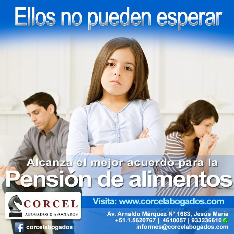 Flyers Corcelabogados.com - Pensión de alimentos