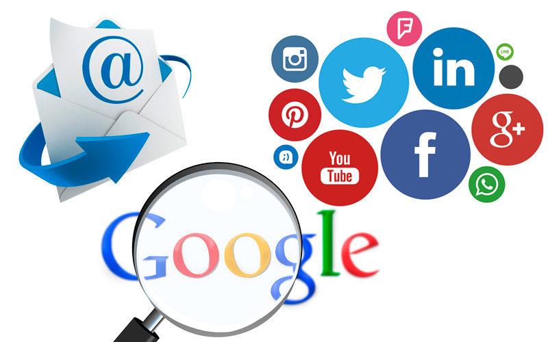 ¿Hacemos publicidad vía correo, google adwords o redes sociales?