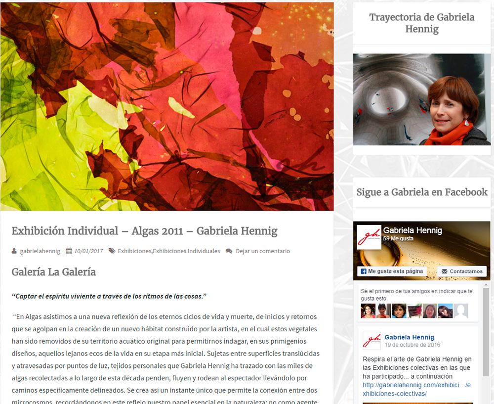 Visita la web de Gabriela Hennig