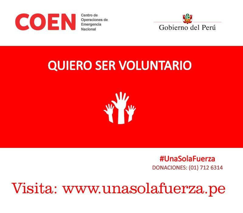 Únete a www.unasolafuerzaperu.pe