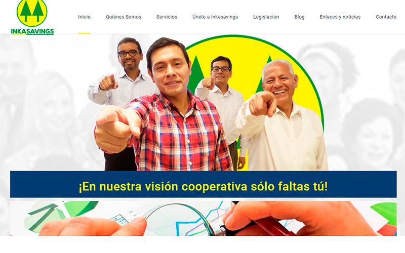 Sitio Web Cooperativa InkaSavings
