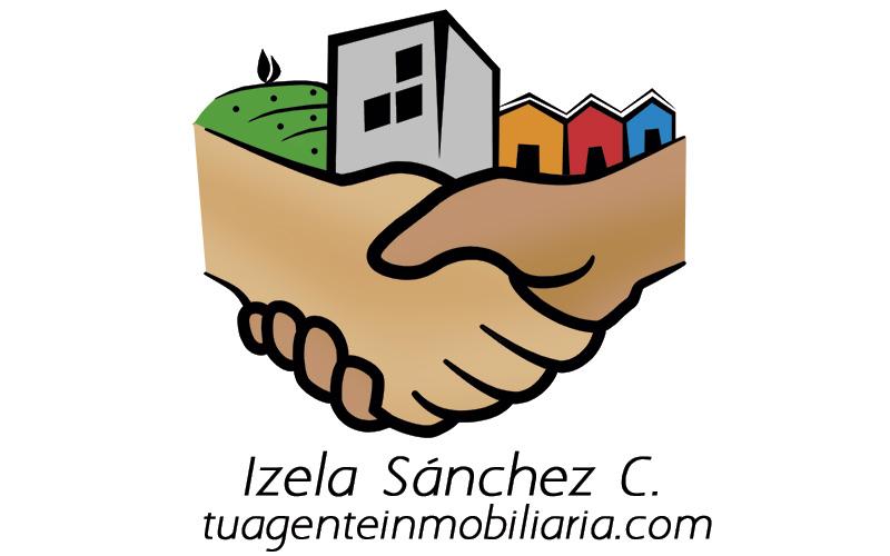 Logotipo y Tarejtas Izela Sanchez