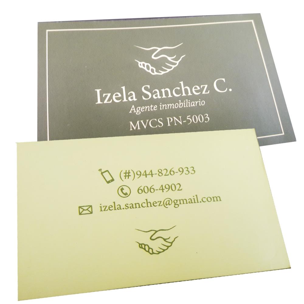 Tarjetas anteriores de Izela Sánchez