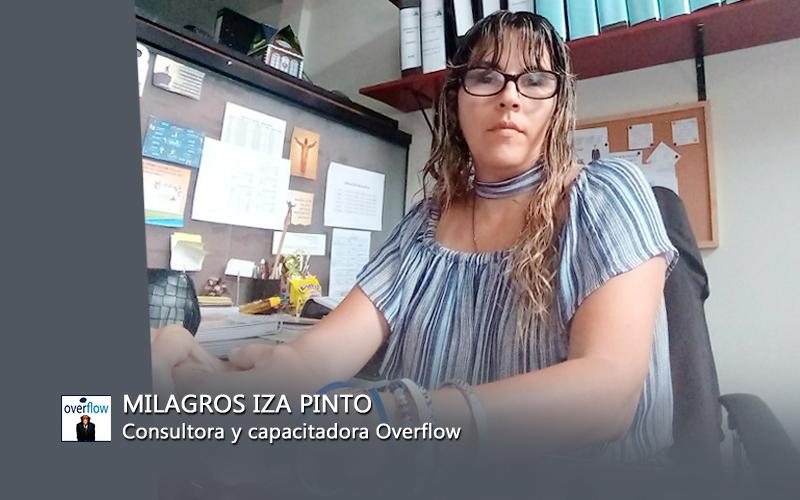 Milagros Iza Pinto - Consultora y Capacitadora Overflow