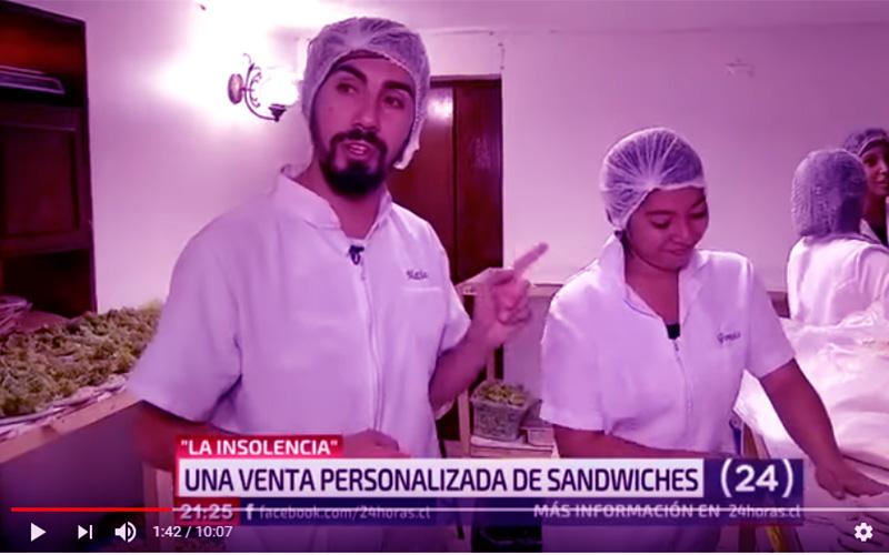 "Caso emprendedor ""La insolencia"" - Sandwiches emprendedores"