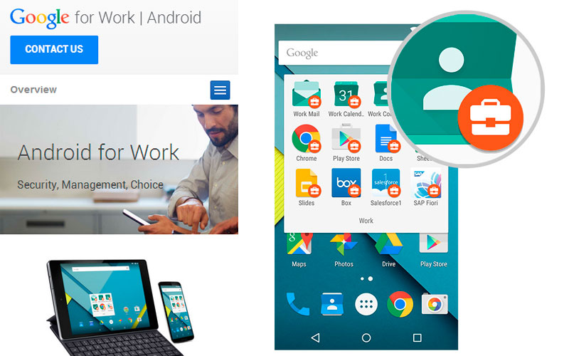Google for Work ahora para Android 1