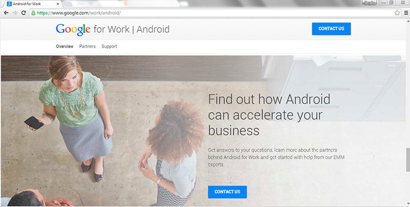 Pregúntale a Google for Work - Android y resuelve tus dudas