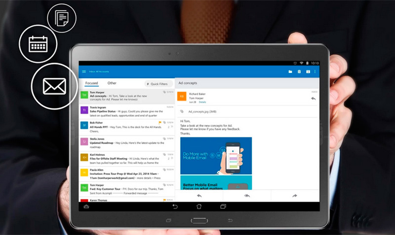 Microsoft lanza Outlook para Android 2