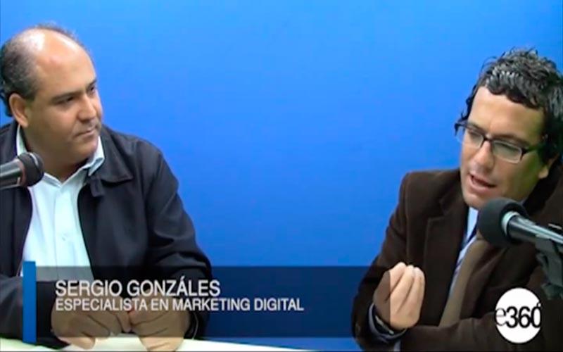 Entrevista a Sergio Gonzalez en Espacio 360