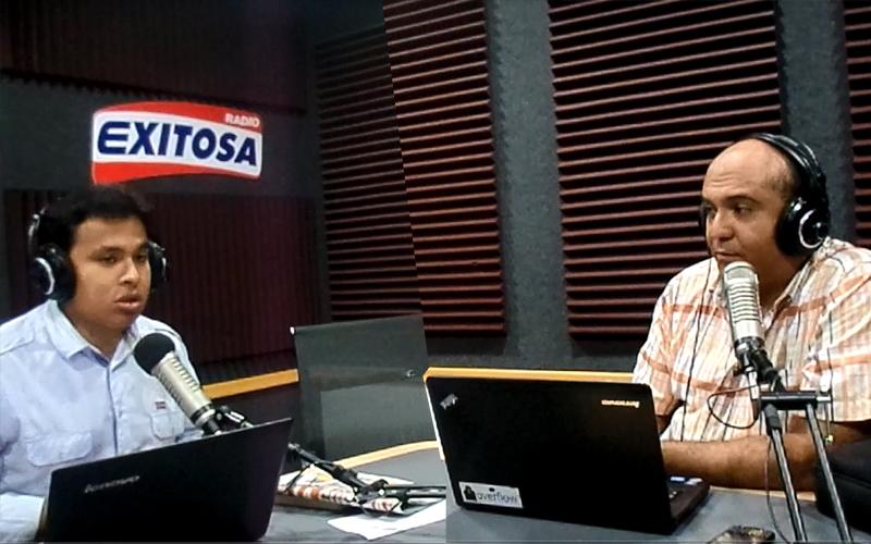 Entrevista Sergio Gonzalez en Radio Exitosa