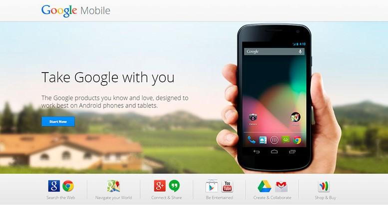 Google mobile ofrece múltiples aplicaciones para tu celular 1