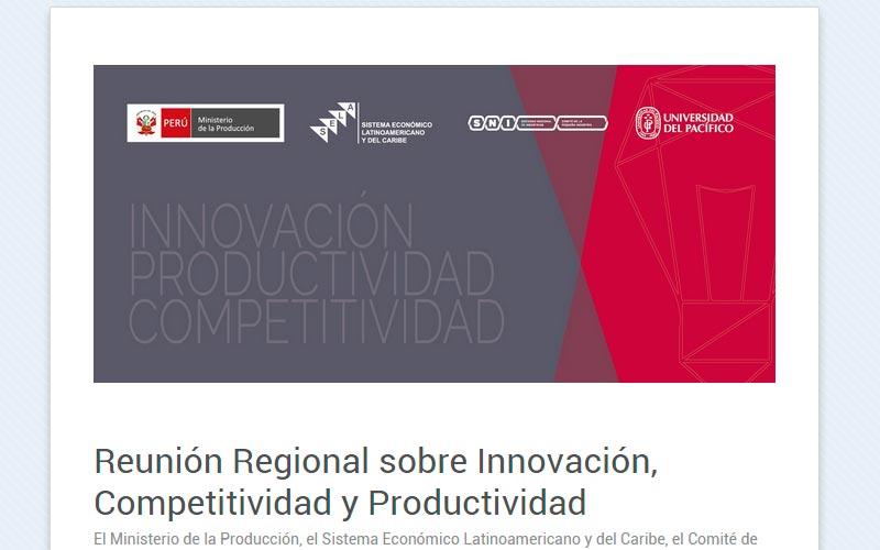 Reunión Regional sobre temas de empresa y emprendimiento en la UP