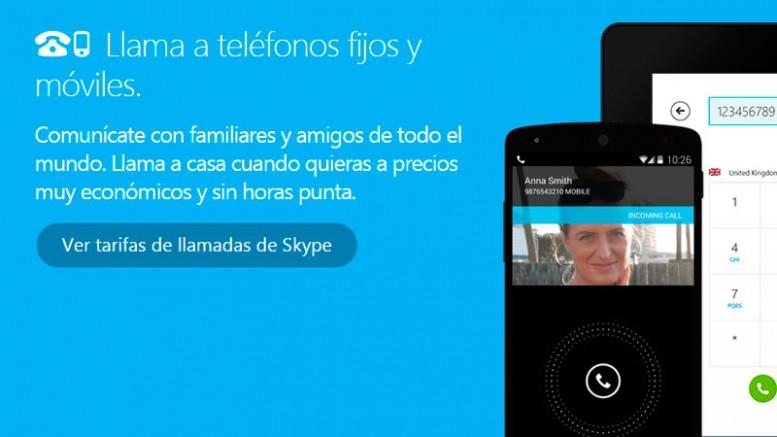 Skype para llamar al Mundo 1