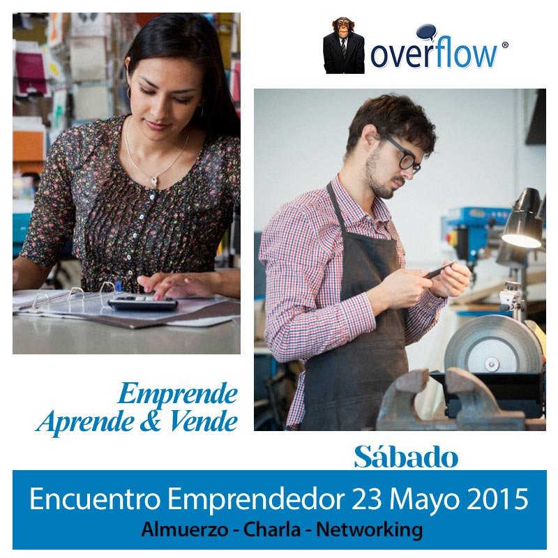 Almuerzo Emprendedor Sábado 23 de mayo 2015