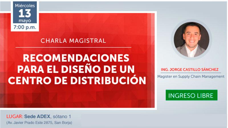 Charla Magistral Centros de distribución