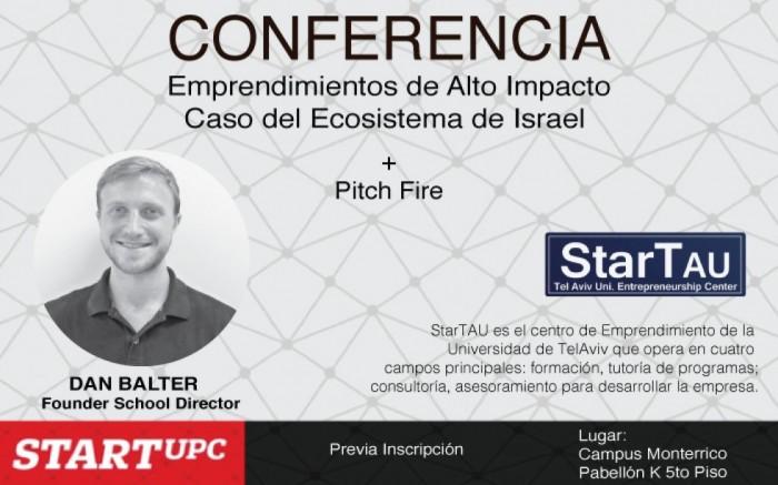 Conferencia Emprendimientos de Alto Impacto