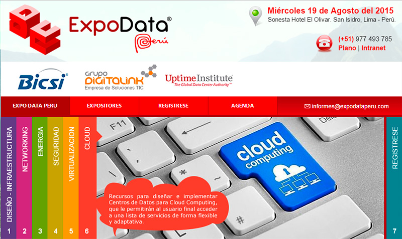 Expo Data Perú 2015