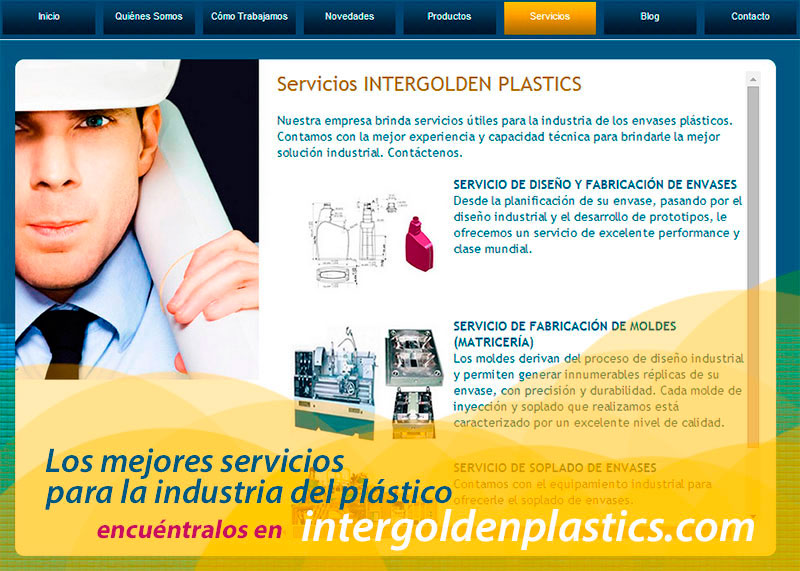 Flyer Intergolden Plastics 2