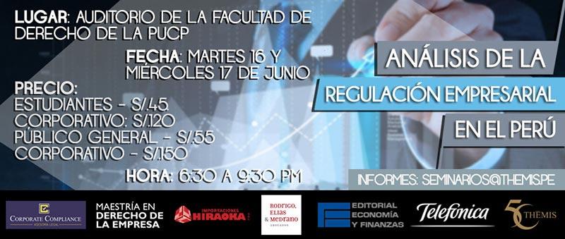 Análisis de la Regulación Empresarial en el Perú