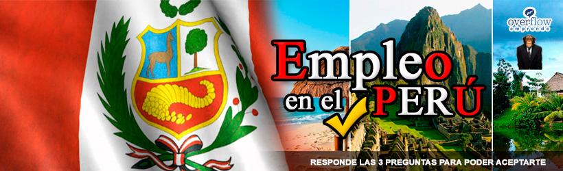 Grupo Empleo en el Perú