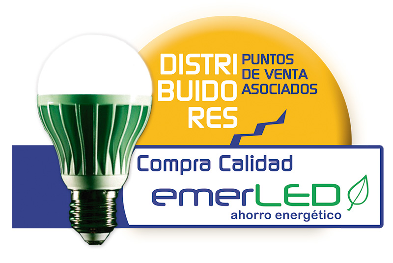 Logo Distribuidores emerLED - Overflow.pe