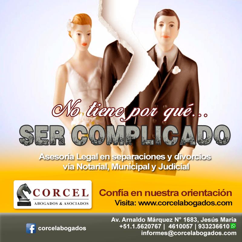 Flyers Corcelabogados.com - Divorcio