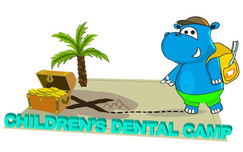 Logotipo 3 Children's Dental Camp