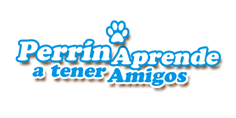 Logotipo Obra Perrín aprende a tener amigos  - Overflow.pe