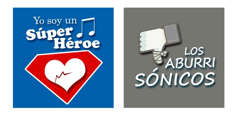 Logotipos Bandas de rock Obra Yo soy un Súper Héroe