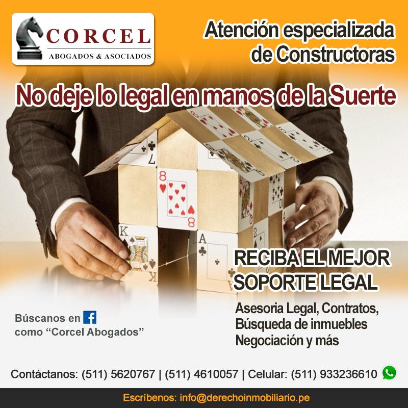 Corcel Abogados - Atención y Soporte legal especializado en Constructoras