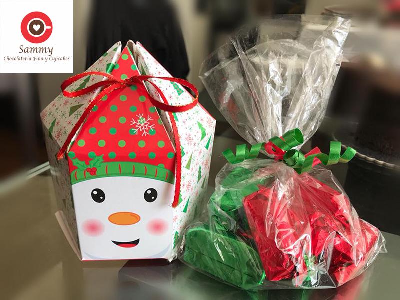Sammy Chocolatería fina y Cupcakes - Chocolatería Navideña