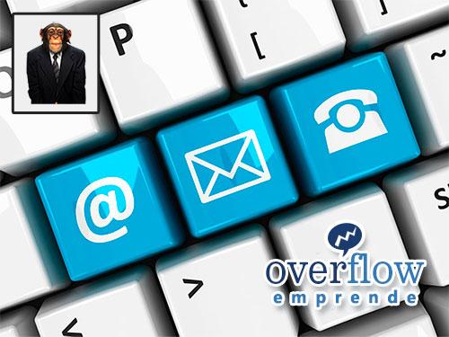 Contacto Web con Overflow - Utiliza el formulario para enviarnos un mensaje directo