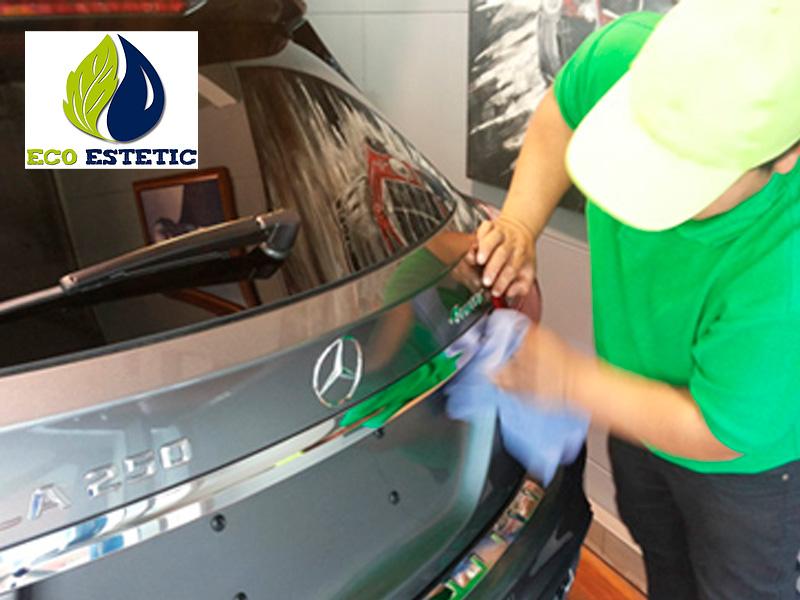 Limpieza fácil de autos con EcoEstetic
