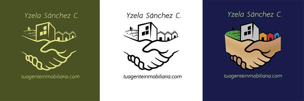 Variaciones del logotipo final - TuAgenteInmobiliaria.com - Izela Sánchez