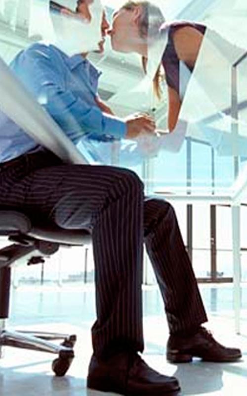 Amor en el negocio o el trabajo: ¿es buena o mala idea?