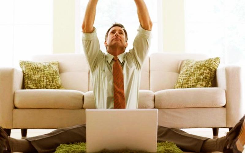 Trabajar en casa es una alternativa que necesita mucho autocontrol
