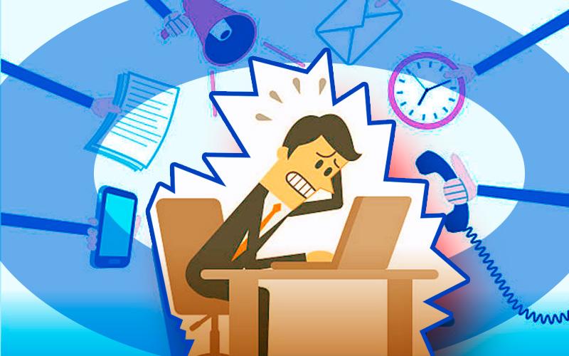 Tener problemas con el tiempo es consecuencia de una mala gestión de actividades