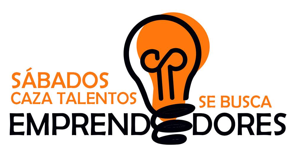 Logotipo Sábados Cazatalentos Se Busca Emprendedores