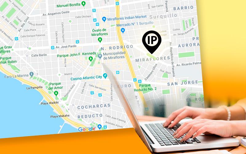 Cómo localizar un IP en el Mapa