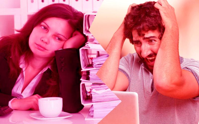 Cómo combatir el estrés en la oficina