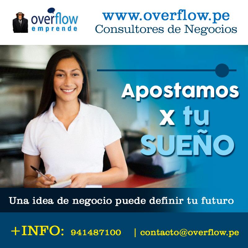 Servicio de Consultoría para emprendedores - Overflow.pe