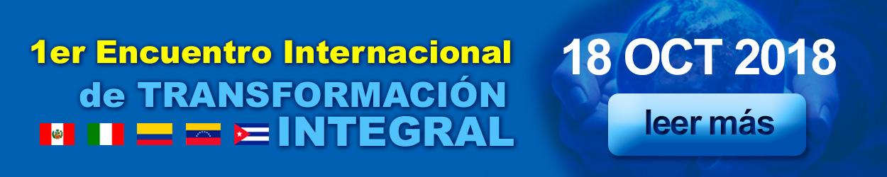 Primer Encuentro Internacional de Transformación Integral - SFL Consulting
