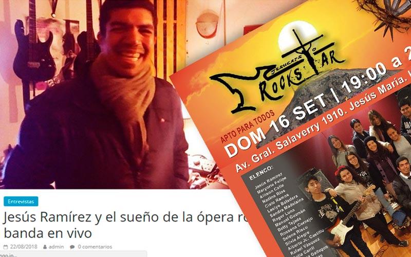 Difusión, video, artículo, afiche y fotografía para Teatrum - Overflow.pe