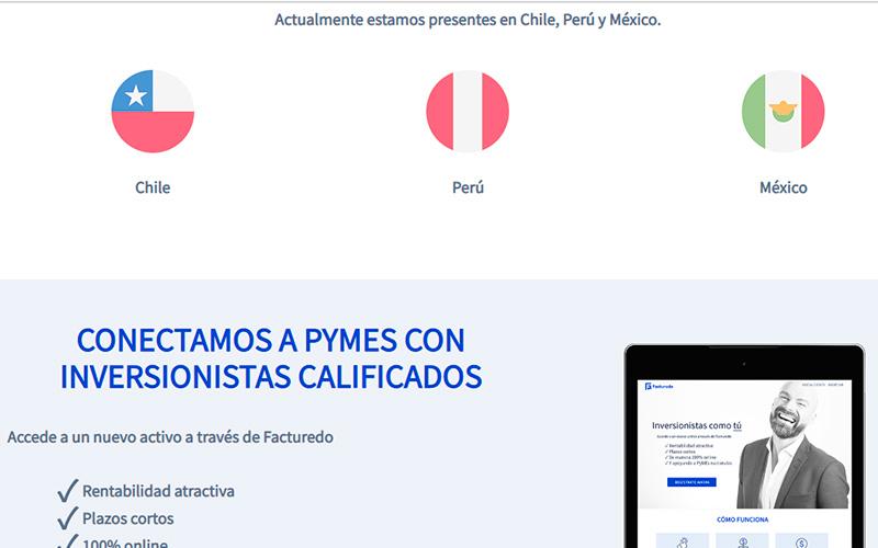 Facturedo opera en Chile, Perú y México -Overflow.pe