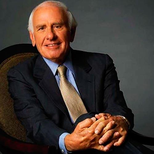 Jim Rohn - Autor de la frase: Eres el primedio de las 5 personas que te rodean - Overflow.pe