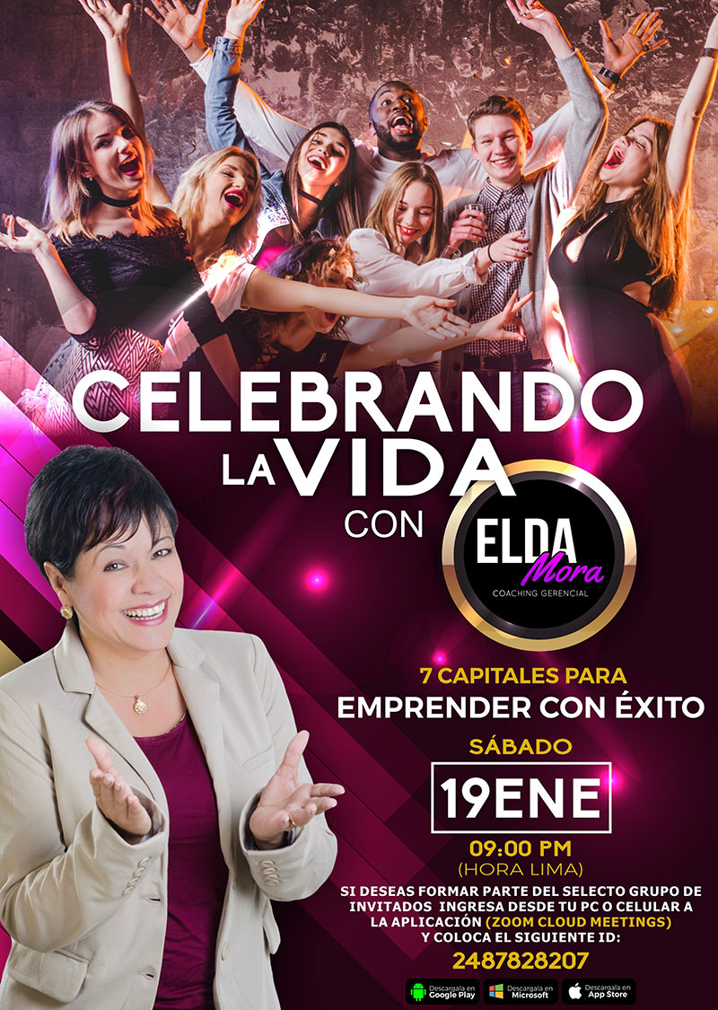 Resumen de la Charla de Elda Mora Meeting Celebrando la vida - Overflow.pe
